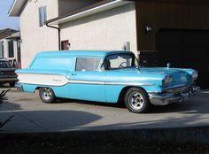1958 Pontiac Pathfinder sedan delivery (Canada, rare as chicken's teeth!)