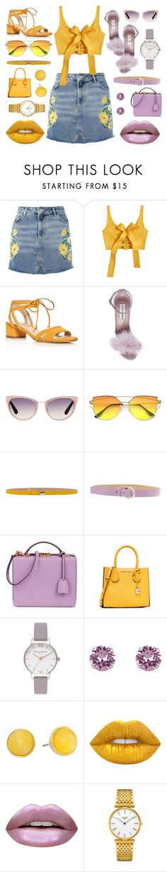 """Colors"" by abougalilsofia ❤ liked on Polyvore featuring Topshop, MARA, Via Spiga, Steve Madden, Tom Ford, RED Valentino, Salvatore Ferragamo, Mark Cross, MICHAEL Michael Kors and Olivia Burton"