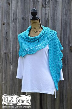 Yay! It's time for the Naturally Southern Shawl Part 2! You must see this beautiful and elegant edging and get started today on your project!