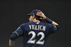 Christian Yelich, Baseball Boys, Blue Crew, Milwaukee Brewers, Badger, Homeland, Athletes, Twins, Wallpapers