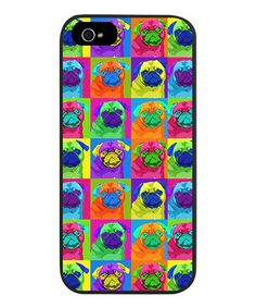 This Pug Warholy Snap Case for iPhone 5/5s is perfect! #zulilyfinds