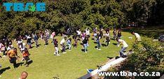 Old Mutual Bursary Students Corporate Fun Day team building Stellenbosch