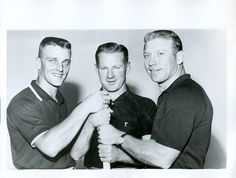Mickey Mantle, Roger Maris and Whitey Ford - 1961 MVP Contenders