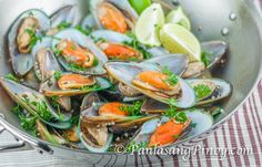 Drunken Mussels makes a good appetizer. This is best eaten with warm toast bread or with croutons. I tried to make the recipe as simple as possible so that you can follow easily.