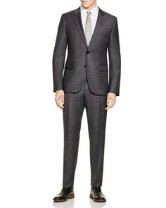 HUGO Micropattern Slim Fit Suit