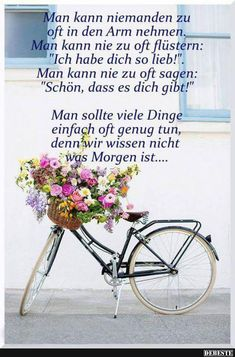 German Quotes, German Words, Positive Quotes, Wise Words, Things To Think About, Positivity, Motivation, Feelings, Life