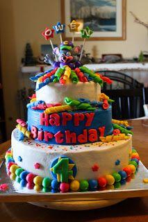 Chuckecheese Birthday Cake