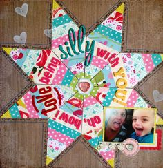 Oh How I love Being Silly with YOU! -- Crate Paper - Scrapbook.com