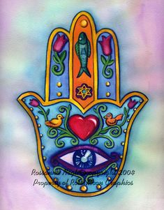 Hamsa Designs | All original Hamsa designs by Rossanna Nagli.