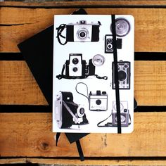 New journals! #journal #writing #notepad #diary #camera #illustration #photography Camera Illustration, Journals, Journal Notebook, Fine Paper, Journal Paper, Paper Gifts, Writing Notepad, Photography, Products
