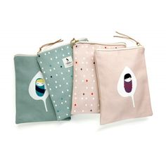 hand sewn cotton pouch - from www.pleasedtomeet.de