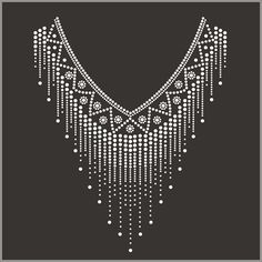 Check out this product on Alibaba.com APP hot fix crystal rhinestone motif neckline design