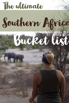 A safari in South Africa, swimming in Mozambique, mokoro rides in Botswana, or seeing the dunes of Namibia. Here is the greatest Southern Africa bucket list.