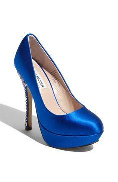 more blue shoes!