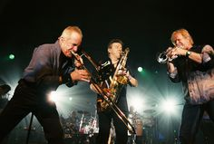 The Chicago Horn section