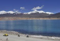 Rallye Dakar crossing the Andes