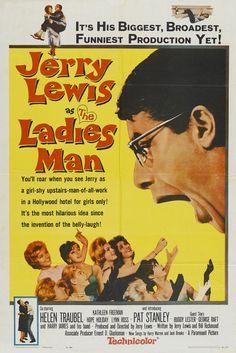 The Ladies Man (1961) Stars: Jerry Lewis, Helen Traubel, Pat Stanley, Kathleen Freeman, Marty Ingels, George Raft, Gloria Jean ~ Director: Jerry Lewis