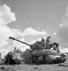 Achilles tank destroyer of 'A' Troop, 117 Battery, 75th Anti-Tank Regiment, 11th Armoured Division in The Netherlands, 4 October 1944.