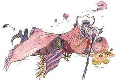 Week 4 - Final Fantasy IV - Concept Art Mon - Tellah