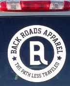 Back Roads Apparel Logo Decal Clothing Logo, Back Road, Jeep Truck, Lululemon Logo, Decals, Roads, Hillbilly, Deep, Jeep Pickup