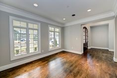 Cool Platinum by McCormick on walls w/ Super White trim