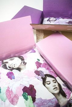 Feminine E-Retail Boxes - Aritzia's Shipping Packaging is Colorful and Fashion-Forward (GALLERY)