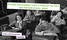 Classroom looking a little old school? Sign up to be among the first to learn about new products from Mimio on February 4, 2013. Visit www.mimio.com/oldschool.