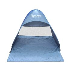 IDEAPRO Outdoor 2-3 Persons Quick Automatic Pop up Instant Portable Cabana Beach Tent Camping Fishing Picnic Shelter for Beach -- Want to know more, click on the image.