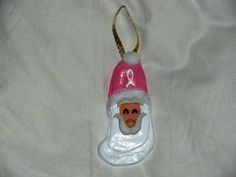 Breast Cancer Awareness  Oyster Shell Santas by OysterShellSantas, $9.00