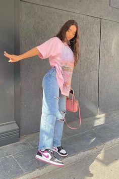 Adrette Outfits, Baddie Outfits Casual, Indie Outfits, Teen Fashion Outfits, Retro Outfits, Cute Casual Outfits, Stylish Outfits, Plaid Shirt Outfits, Teenage Girl Outfits