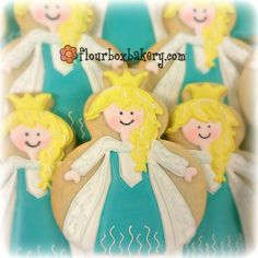 Flour Box Bakery — A Video of the Snow Queen Cookie