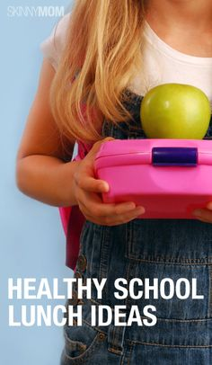 Here are some healthy and nutritious lunches for your kids.