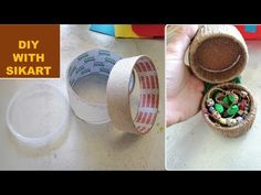 Hello everyone and welcome to a new video! Today's tutorial is about ``Caseta din role de carton pentru bijuterii ♻️Box for jewelry made of cardboard rolle -. Cardboard Rolls, Easy Projects, Hello Everyone, Give It To Me, Jewelry Making, Make It Yourself, Animal, Handmade, Hand Made