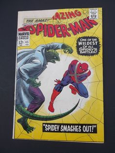 Amazing Spider-Man #45! Silver Age! 1967! Marvel! Stan Lee! John Romita!