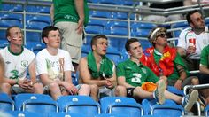 Republic of Ireland fansRepublic of Ireland fans inside the Municipal Stadium Poznan after their UEFA EURO 2012 Group C match against Italy