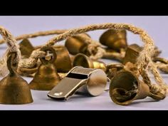 A bell (old Saxon: bellan, to bawl or bellow) is a simple sound-making device. The bell is a percussion instrument and an idiophone. Gold Rings, Youtube, Buildings, Jewelry, Simple, Jewellery Making, Jewerly, Jewlery, Jewelery