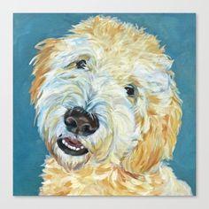 Glen Of Imaal Terrier, Labradoodle, Goldendoodles, Petit Basset Griffon Vendeen, Pet Loss Gifts, Dog Portraits, Pet Memorials, Dog Art, Canvas Prints