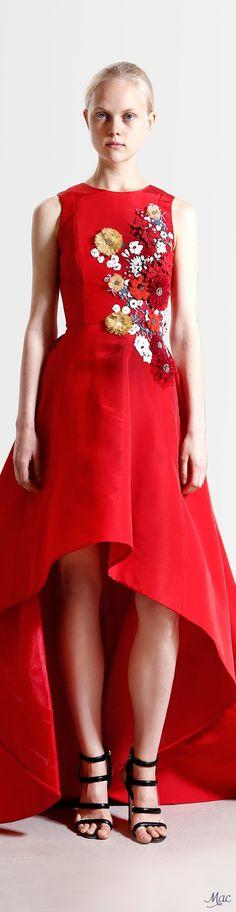 Reem Acra Resort 2017 Fashion Show Fashion 2017, High Fashion, Fashion Show, Fashion Design, Resort 2017, Nice Dresses, Amazing Dresses, Long Dresses, Reem Acra