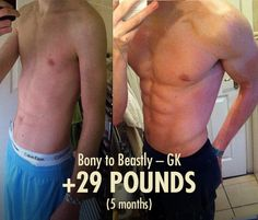 GK 29 Pound Transformation Before & After Photo