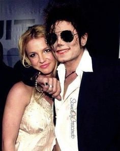 MJ with Brittany Spears.