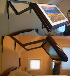 Extended Flip Out TV Wall Mount.