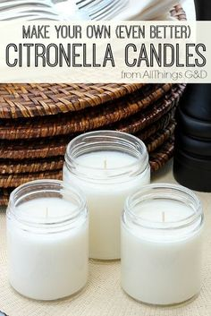 31 Brilliant DIY Candle Making and Decorating Tutorials – Cute DIY Projects