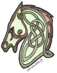 Celtic Horse by totemwolfie.deviantart.com on @deviantART