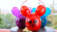 This premium popcorn bucket, which celebrates the iconic Mickey balloon, is now available as part of the Disneyland Resort Diamond Celebration! It's perfect to hold your keepsakes long after your visit.
