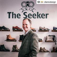 En esta entrevista descubriréis que hay detrás de The Seeker #Repost @diariodesign ・・・ Os presentamos a Iñaki Bertrán, socio fundador de @theseekershoes la marca española de zapatos sin los que no podremos pasar el 2017! (Sponsored by @mydrap) #genteslowkind #theseekershoes #zapatos #entrevistas #moda