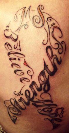 Multiple Sclerosis...tatoo