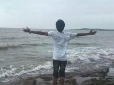 Malhar Takle trying to grab all the world in his arms for Peace & Love :)
