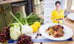 Home & Family - Recipes - Ellie Krieger's Pork with Fennel and Grapes   Hallmark Channel
