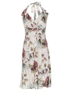 0f4fc513ec Women s Lahaina Hibiscus Short Halter Hawaii Dress