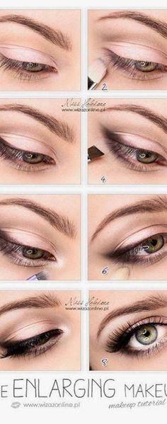 Makeup Ideas Step By Step Eyeliner Natural Eyes Make Up Ideas Eyeliner Make-up, Eyeliner Styles, How To Apply Eyeliner, Black Eyeliner, Coloured Eyeliner, Eyeliner Ideas, Perfect Eyeliner, Eyeliner For Beginners, Makeup Tutorial For Beginners